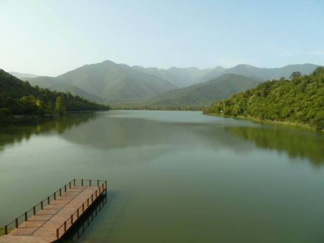 Lake Kvareli, Kakheti.