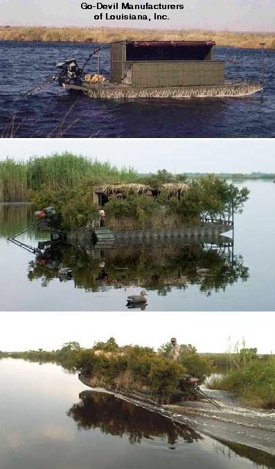 floating duck blind plans - group picture, image by tag - keywordpictures.com