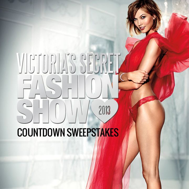 Play the VS Fashion Show Countdown instant-win sweeps! 100+ prizes daily + share 4 more chances to win a trip to NYC! No purch. nec. 18+. http://vsallaccess.victoriassecret.com/fashionshow/sweeps/