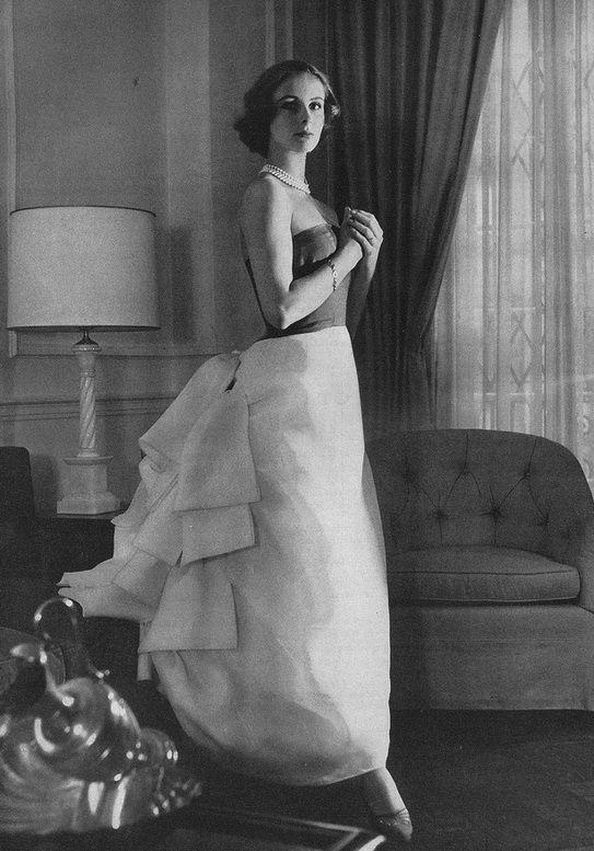 1956 - Balenciaga Evening Gown,