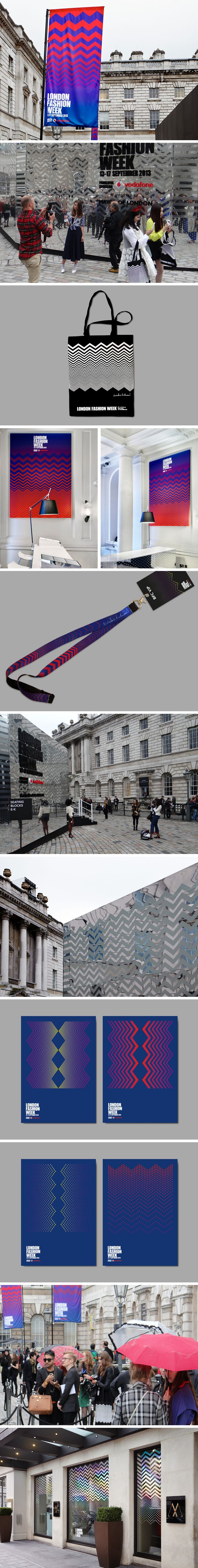 London fashion week – LFW/Nicholas Kirkwood Design Collateral  Client – British Fashion Council  Info –