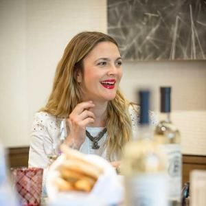 Drinking with Drew Barrymore, Part Two: On Wedding Gifts, Her New Pinot Noir, and the Best Wine for Game of Thrones' Khaleesi #FWFesties