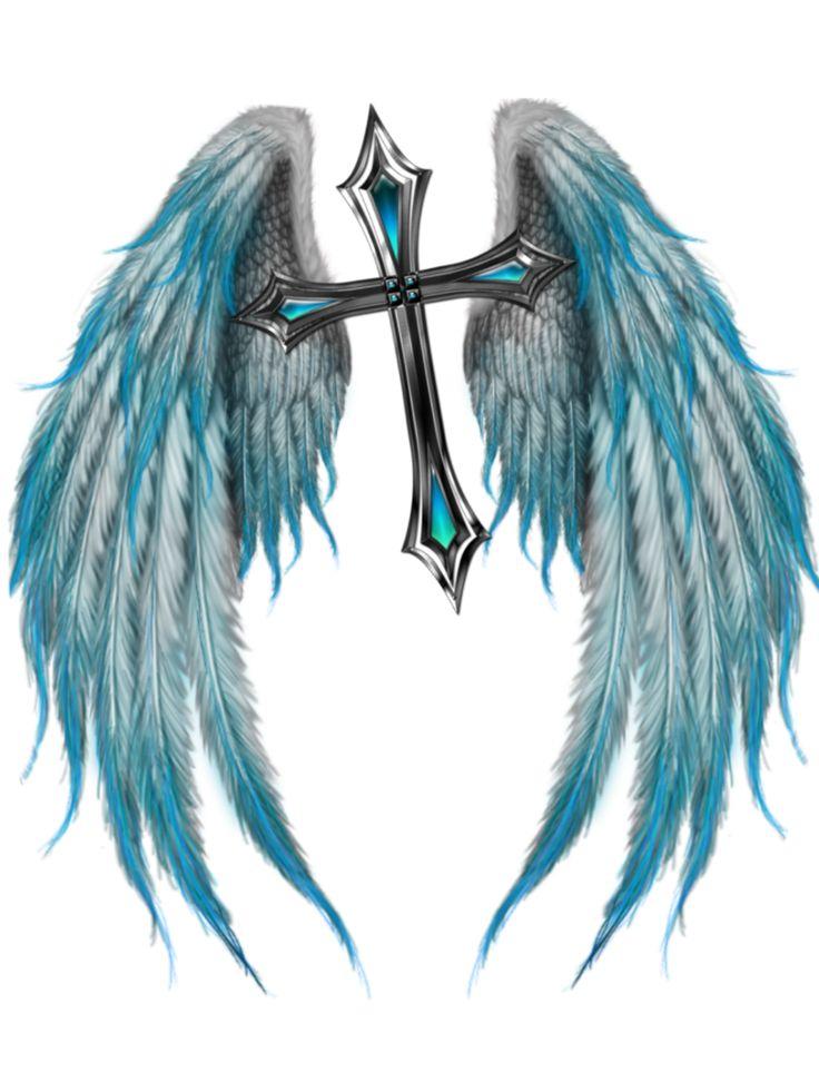 """from Faith Knights  Takashima's symbol """"The Winged Cross"""""""