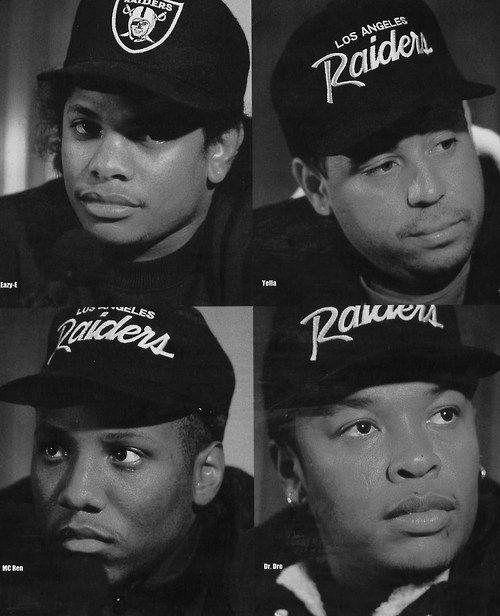 Eazy, Yella, Ren and Dre