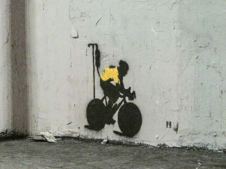 Lance Armstrong inspired Street art
