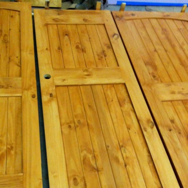 Interior Doors For Jayu0027s Cabin.