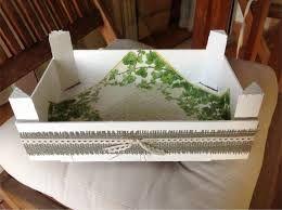 Resultado de imagen de ideas con cajas de fresas