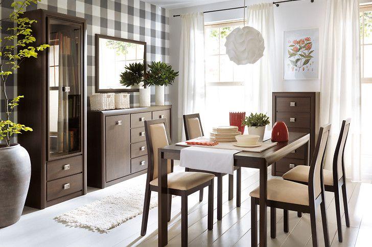 Koen #furniture #meble #design #dom #home #inspiration #interior #livingroom #jadalnia #family #decoration #stol #table