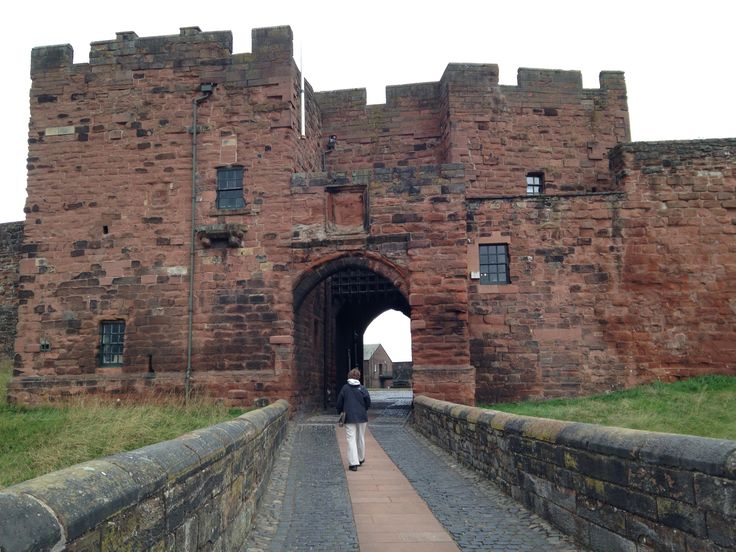 Carlisle Castle, Carlisle, England, where Adrian stands to look across the city, searching for his best friend, Hugh.