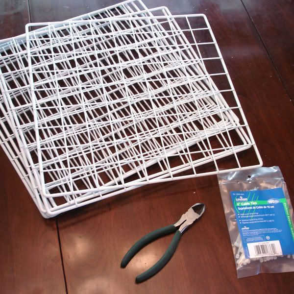 Love this idea for making your own storage racks for paper and best of all...it is cheap and you may already have the supplies laying around!