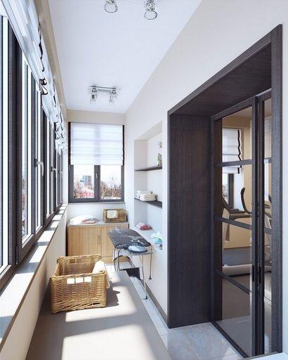 Фотография:  в стиле , Балкон, Советы, как обустроить балкон, объединить балкон с гостиной – фото на InMyRoom.ru