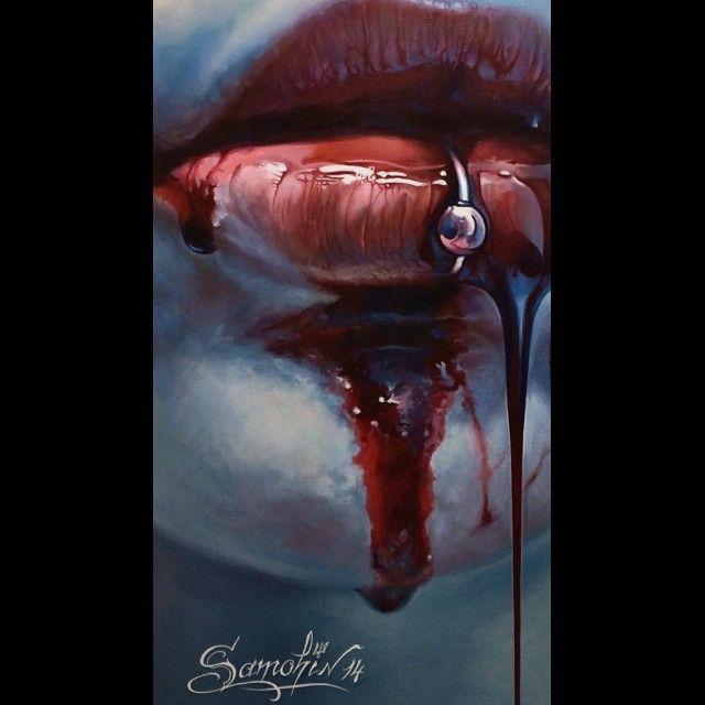 Painting by Dmitriy Samohin