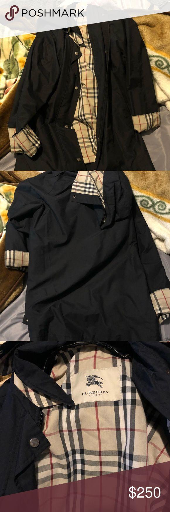 Burberry Rain Coat Woman's medium/large. Too big on me! Burberry Jackets & Coats Trench Coats