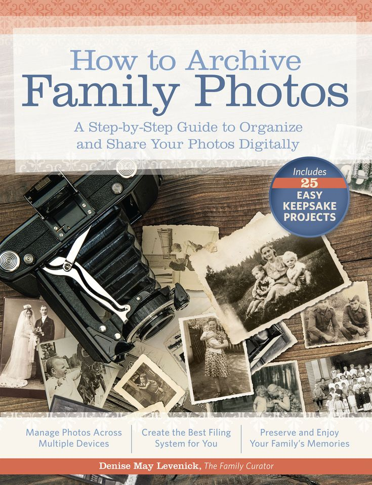 Organize and preserve your photos digitally! Simple solutions to manage your family photos, digital asset management made easy