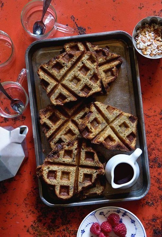 You Should Be Making Waffles out of Banana Bread