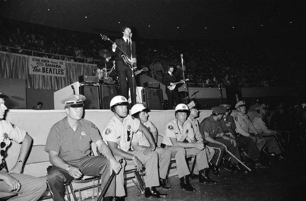 The Beatles. Las Vegas Convention Center, August 20, 1964.