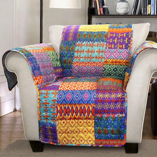 Lush Decor Misha Armchair Furniture Protector Slipcover