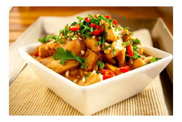 Peanut Chicken Curry