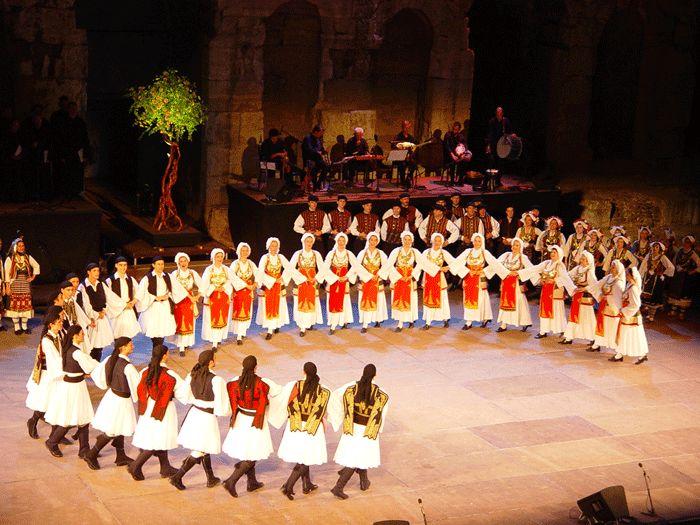 Lukeio Ellinidon - Irodeio..-Greek Dancers