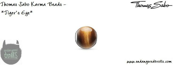 Thomas Sabo Karma Beads Tiger's Eye