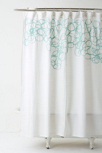 curtain rails white shower shower curtains anthropology monkey cottage