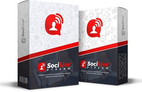 SociLiveStream – what is it? SociLiveStream is web based SaaS software that allows you to upload / live streaming video to your YouTube channel with autosuggestion of keyword for top and fast ranking and share the video to most popular social network instantly.