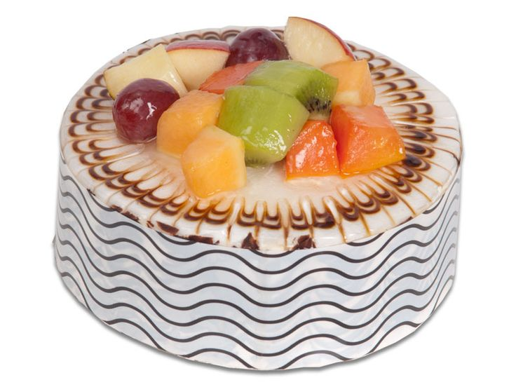 chocolate eclair cake fruit glazed cake 0 5 kg popular cakes 2868