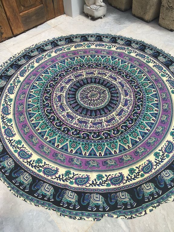 ☾❂☽ Roundie Misty Life Mandala ☾❂☽ www.thirteenblessings.bigcartel.com