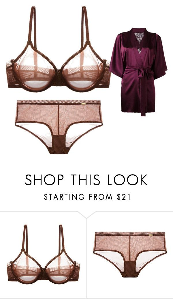 """Looking Sexy on My Anniversary Night"" by english-thea ❤ liked on Polyvore featuring Gossard and Fleur of England"