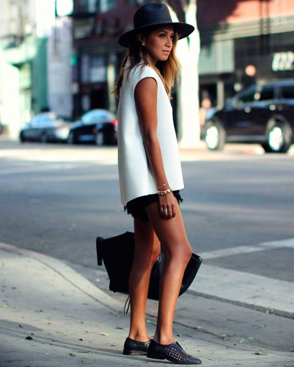 julie sarinana street style women fashion outfit clothing style apparel @roressclothes closet ideas