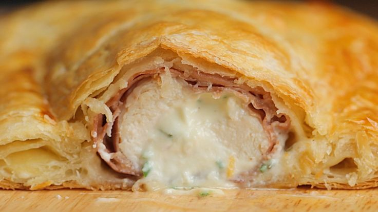 Cheesy Chicken Wellington - Twisted