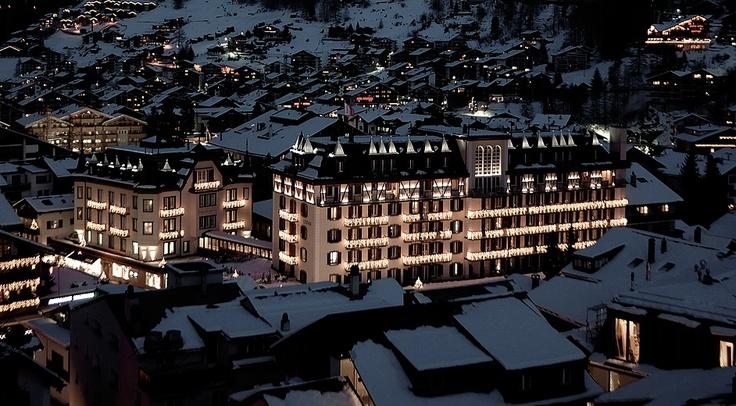 "Five Star Hotel Zermatt ""Mont Cervin Palace"" - for a great skiing in Zermatt!"