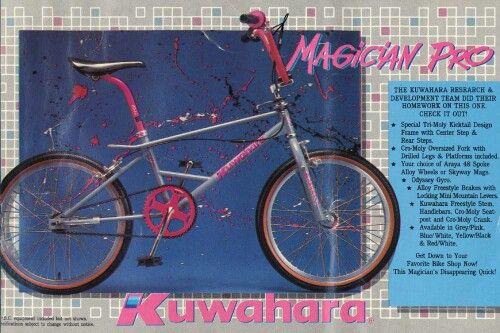 80s Kuwahara BMX