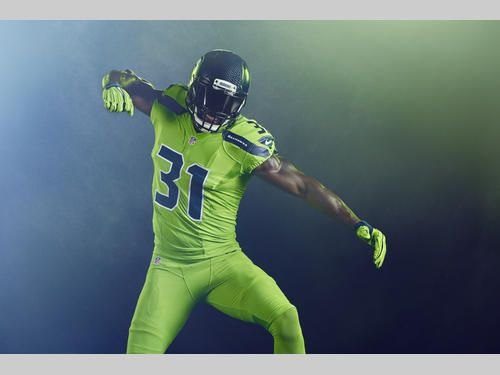 NFL Color Rush: Seahawks Introduce Action Green Uniform | Seattle Seahawks
