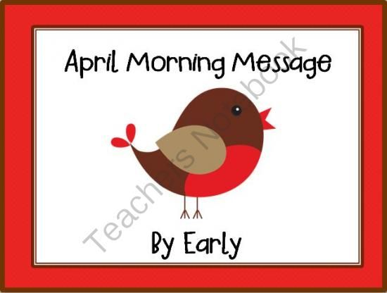 April Morning Message - Makes DOL Fun - CCSS ELA Shelf Elf from Smart Teaching on TeachersNotebook.com -  - Using the interactive whiteboard, an ELMO projector, or an overhead projector, students can edit the letters written to the group by Early, the returning robin. These lessons teach common core curriculum for language arts, and much more. Your students wil