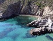 A beach in Serifos