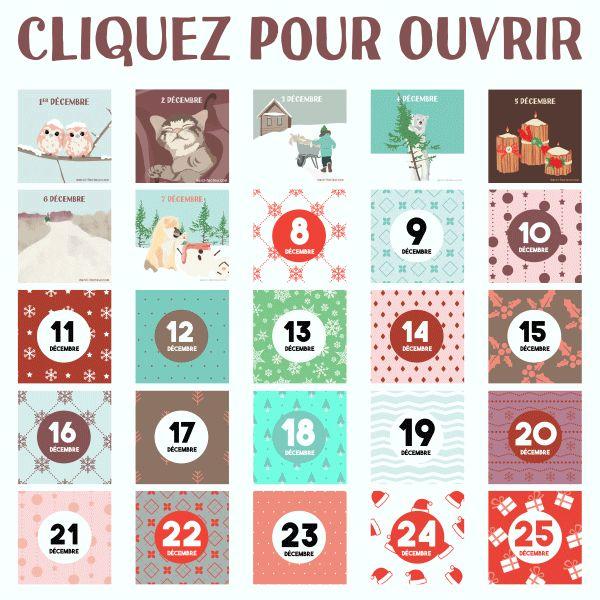 Calendrier de l'Avent : Nous sommes le 8 Décembre... Partagez chaque jour le calendrier de l'Avent sur votre mur pour le faire découvrir à vos amis ! www.merci-facteur.com http://gph.is/2gaQDOM #calendrierdelavent #avent #avent2016 #J8 #Jour8 #calendrier #decembre #hiver #noel #neige #cerf #calendar #december #winter #christmas #snow #adventcalendar #deer