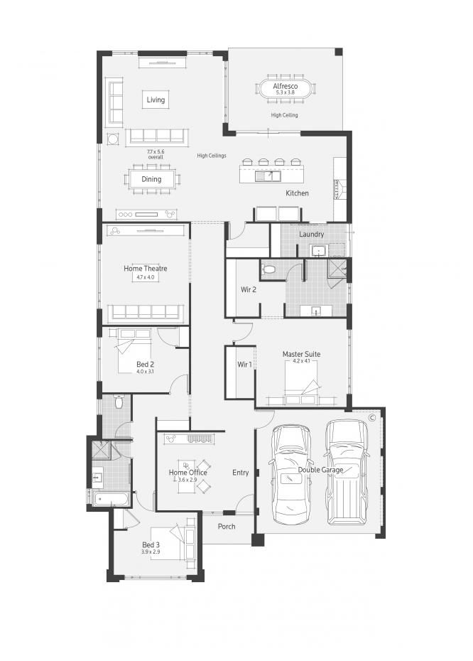 1000 images about floor plans on pinterest house plans for Dale alcock home designs