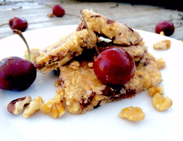 Packed full of protein and fiber, these vegan nutrition bars made with cashews, walnuts, and fresh cherries are the ideal between-meals snack. By Alex Kudukis