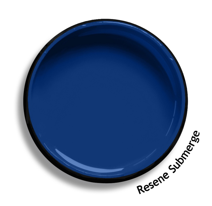 Resene Submerge is a true sapphire blue, a favourite of boys everywhere, vigorous and youthful. Try Resene Submerge with watery lilac blues, light Bermudan greens or red edged oranges such as Resene Half Breathless, Resene Renew or Resene Big Bang. From the Resene The Range fashion colours. Latest trends available from www.resene.co.nz. Try a Resene testpot or view a physical sample at your Resene ColorShop or Reseller before making your final colour choice.