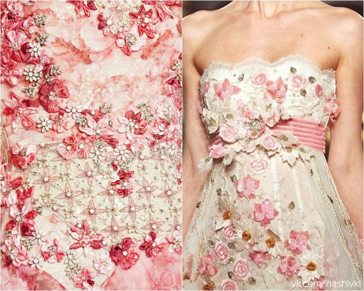"""""""Нежность - чувство благодарности человеку за то, что он просто есть""""  #pv_citaty #вышивка #вышивание #рукоделие #цитаты #подборки #красота #мода #женщина #розовый #платье #цветы #нежность"""