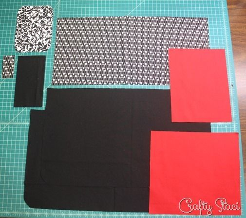 Pieces for Craft Show Vendor Apron
