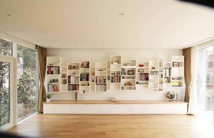 Boekenkast Home Library Design Ikea Home Decorating