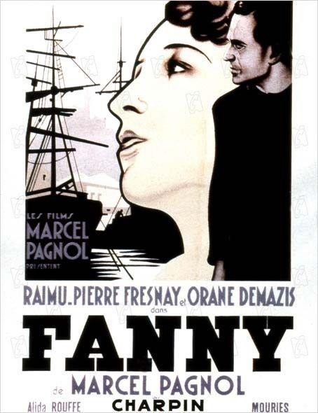 Fanny : affiche Fernand Charpin, Marcel Pagnol, Pierre Fresnay, Raimu
