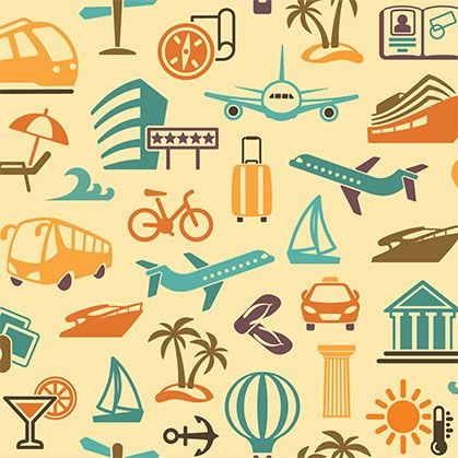 160 best Travel Theme Wallpaper Designs images on ...