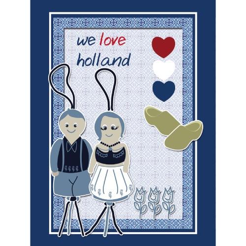 We love Holland   Postcard