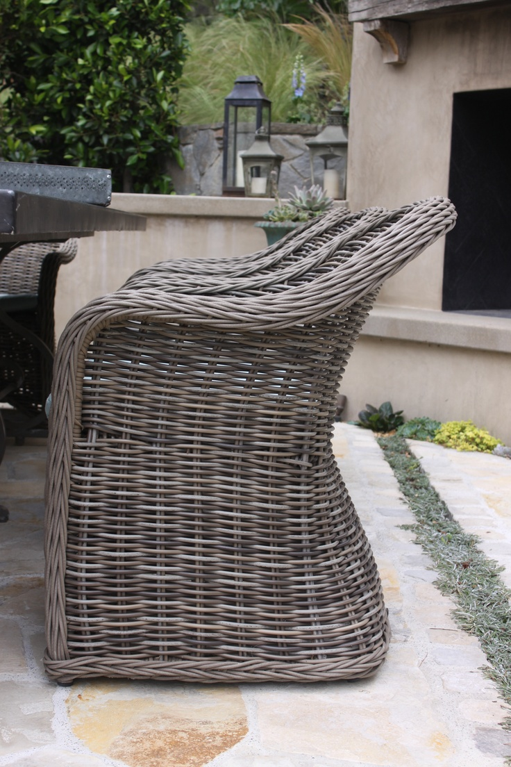 Beds on pinterest gardens floating bed and wicker patio furniture - Gloster Havana Dining Chair For The Patio