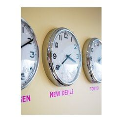 Individual Wall Clock or Wall clocks for each of our cities?
