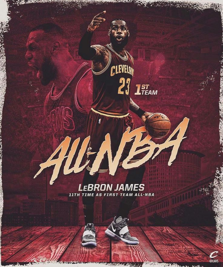 Congrats, @KingJames!  LeBron has been named to his NBA-record tying 11th All-NBA First Team.  StriveForGreatness    DefendTheLand