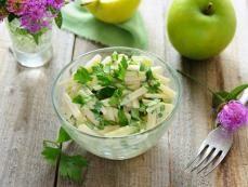Салат из репы, зеленой редьки и кольраби - Рецепты - Кухня - Аргументы и Факты